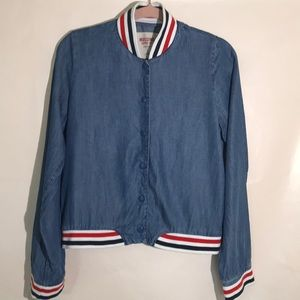 Mossimo supply & Co light weight jean jacket Small